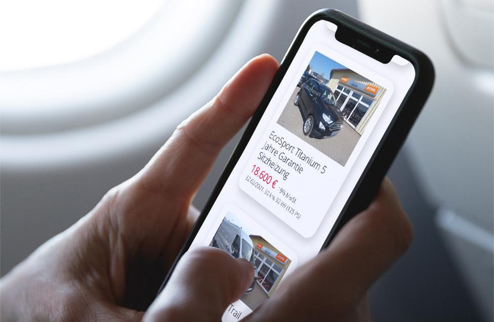 Mobile.de WP plugin - Smartphone-optimiert